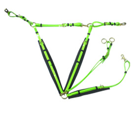Lime Green TPU Endurance Breastplates
