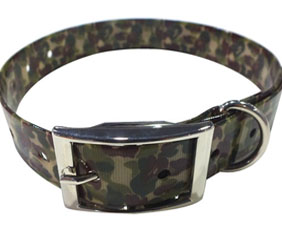 Pet supplies camouflage TPU dog collar for sale