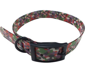 Personalized camo design greyhound training walking hunting collar TPU